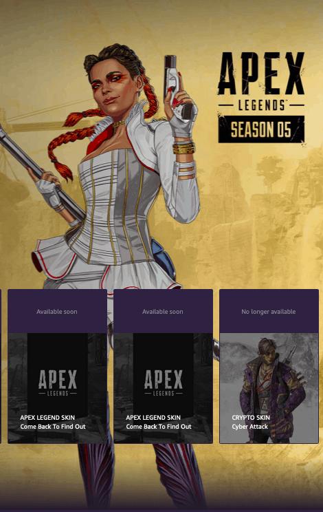 Apex Legends Season 5 content drops for Twitch Prime