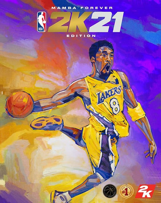 NBA2K21 Current Generation Mamba Forever video game marketing