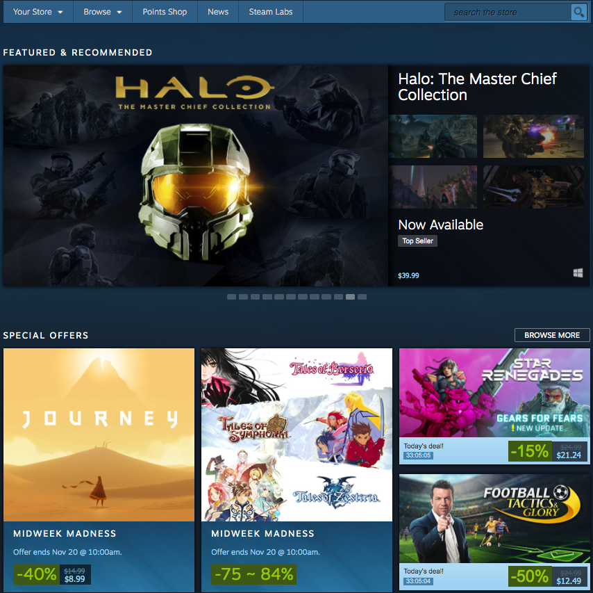 STEAM video game marketing video game publishing